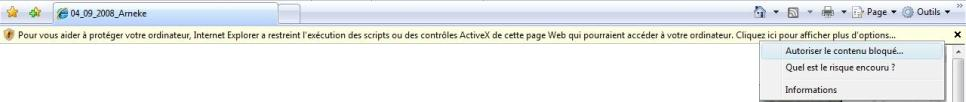 Message protection activeX